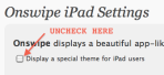Wordpress iPad - Please disable mobile theme