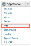 Wordpress iPad - Please disable mobile theme