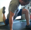 MWOD 02-225 - Lunge hip stretch